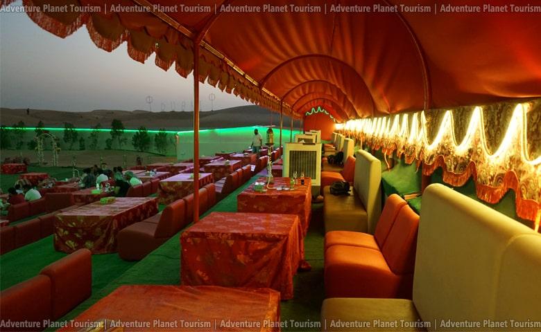 VIP Area of Adventure Planet Tourism Camp